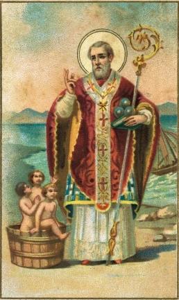 iconografia San Nicola
